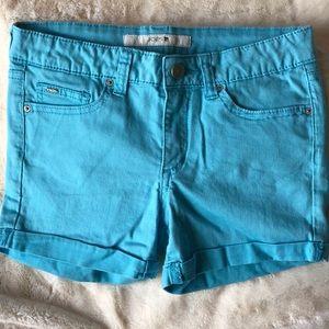 Joe's jeans Ever Blue rolled cuff shorts Sz 14
